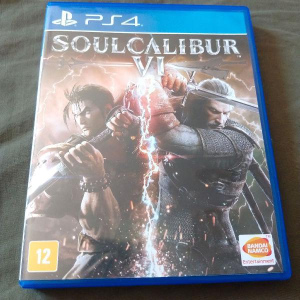 Soulcalibur 6 vi (playstation 4 jogo)