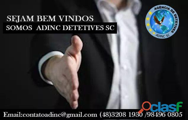 #DETETIVES ADINC #FLORIANÓPOLIS #SC