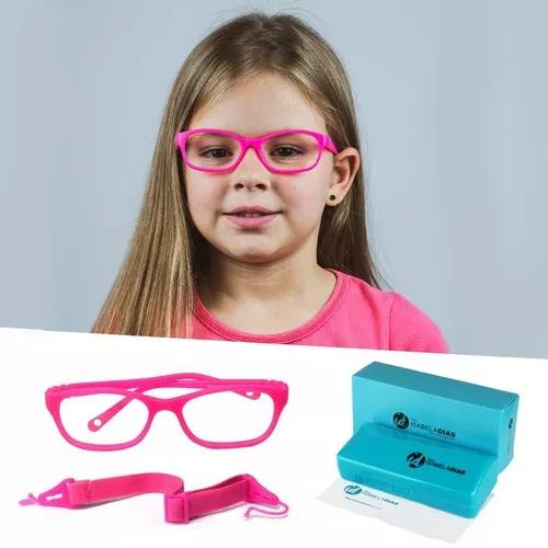 Armação óculos grau infantil miraflex elástico 4 a 8