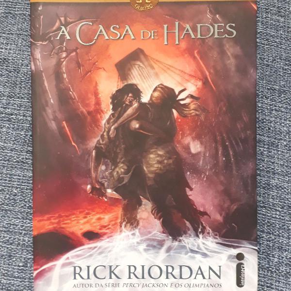 Livro a casa de hades - livro 4