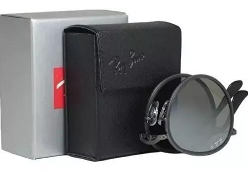 Oculos de sol ray ban round dobravel 48-rb3517 rosê envio
