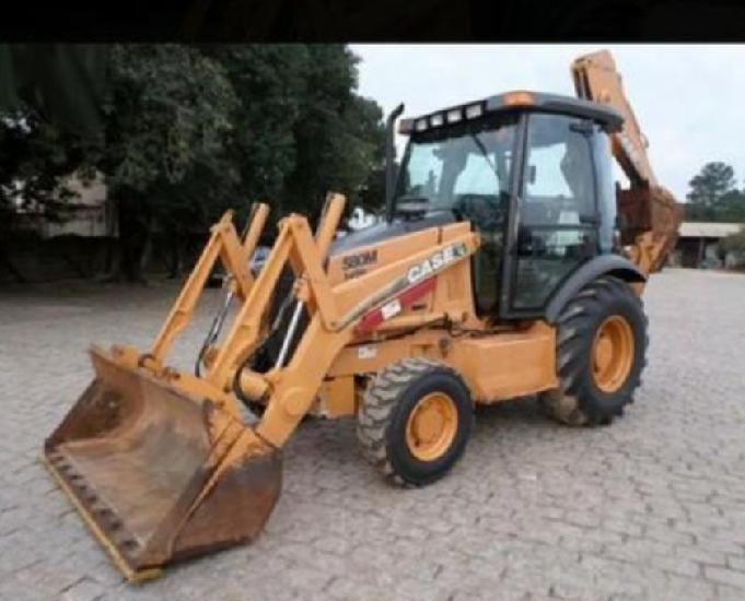 Retro escavadeira 580