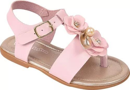 Sandalia infantil menina daferinha ref 3065