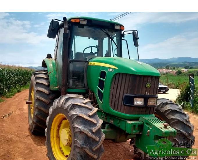 Trator John Deere 6165 J 4x4 (Todo Original!)
