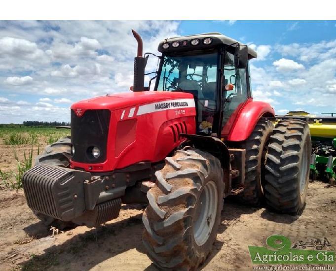 Trator Massey Ferguson 7415 Dyna 6 (Dual Filipado!)