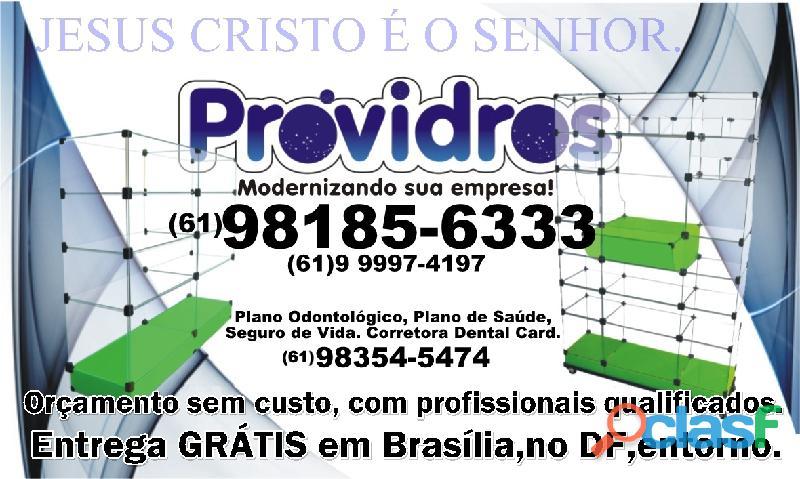 balcão de vidro para loja de bijuterias,(61)98185 6333,em Taguatinga,na Ceilandia,em Brasília,no DF 3
