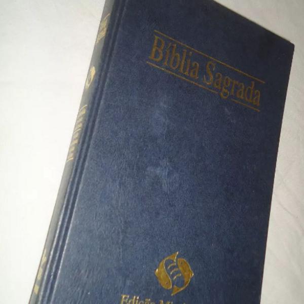 Bíblia sagrada edição missionária sbb 2º edição