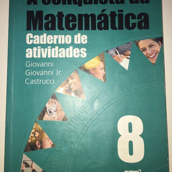 Caderno de atividades 8 ano-a conquista da matemática