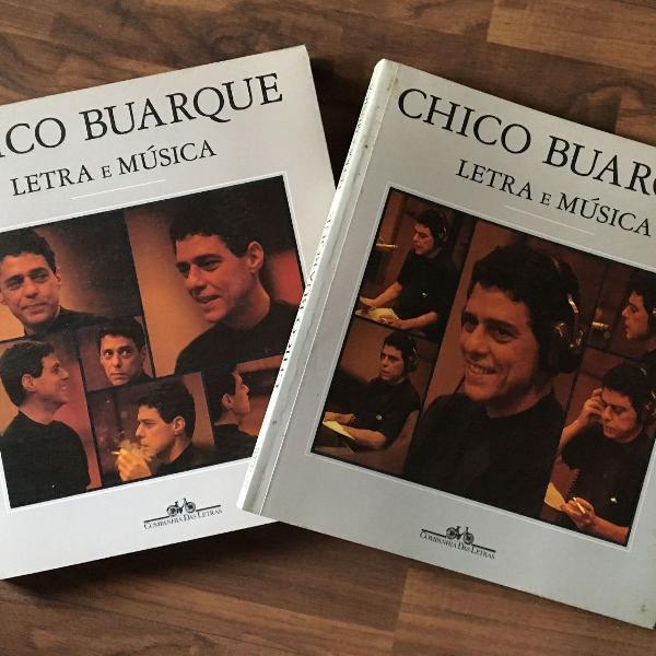 Chico buarque letra e música - 2 volumes