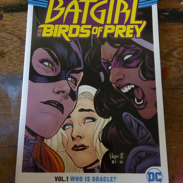 Hq batgirl and the birds of prey - batgirl e as aves de