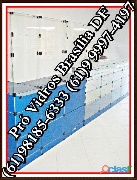 Instalacões de vidro em lojas,(61)9 8185 6333,em brasília, df,entorno,entrega grátis,pronta entrega