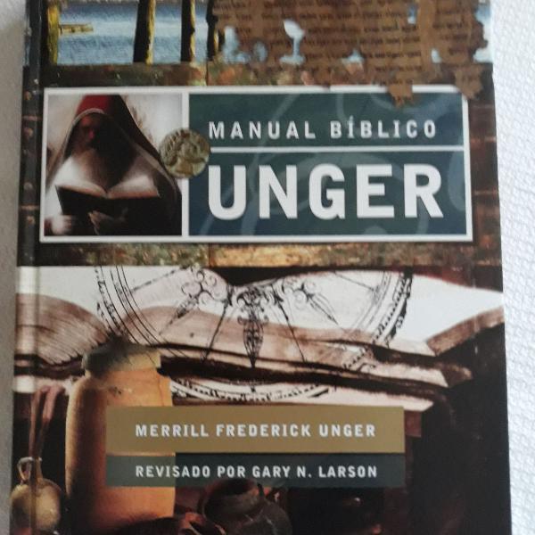 Livro manual biblico unger 743págs2006-leia descrição