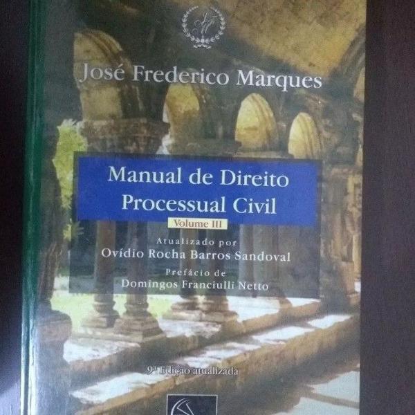 Livro manual de direito processual civil volume iii