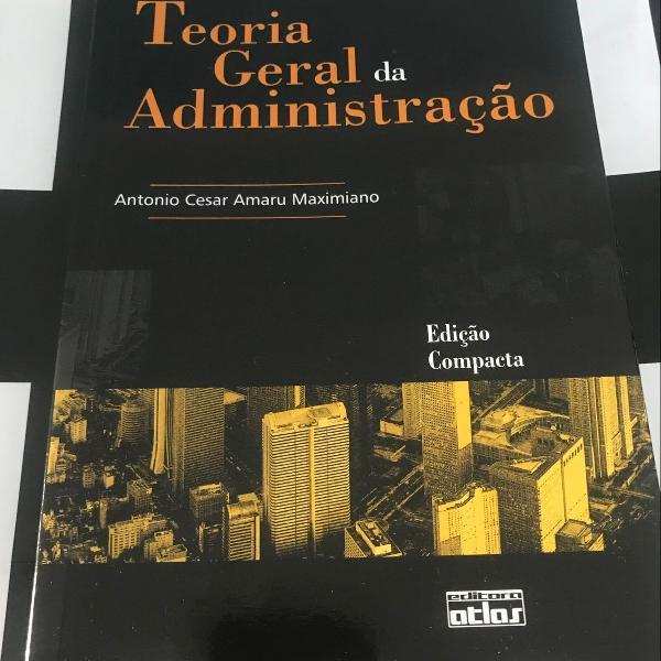 Livro - teoria geral da administração