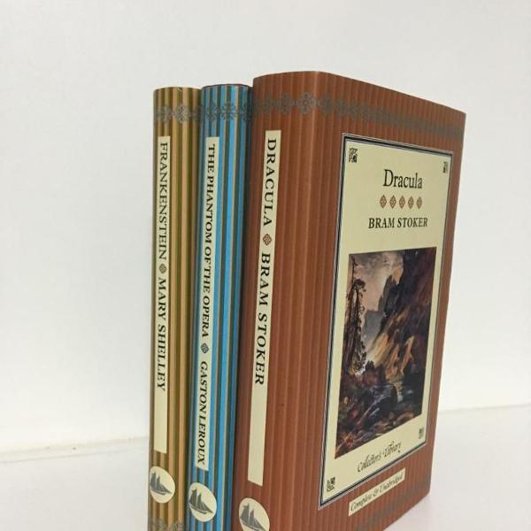 Livros collectors book - dracula, fantasma da opera,