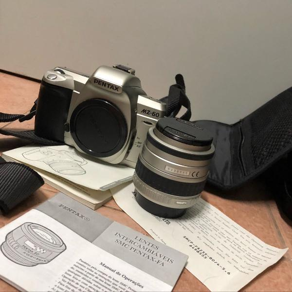 Maquina fotográfica pentax mz-60 quartz date