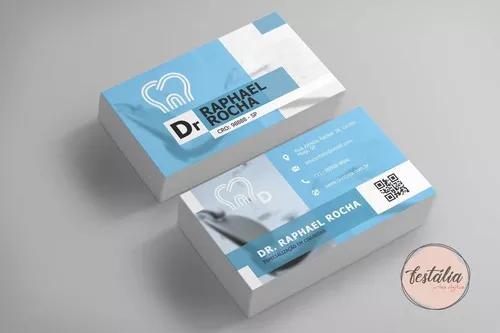 Arte digital cartão de visitas para dentistas