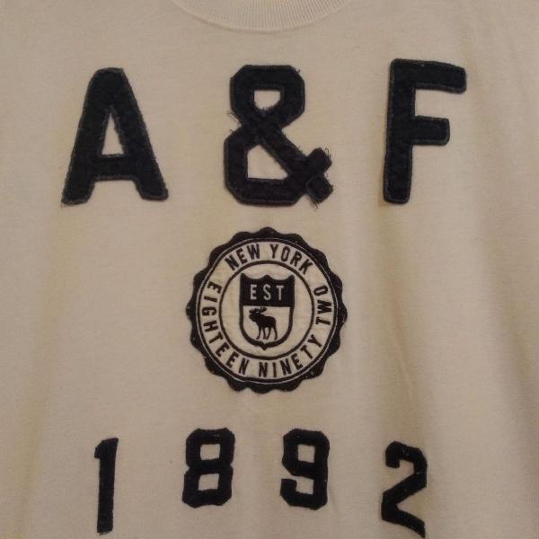 Camisa malha abercrombie & fitch
