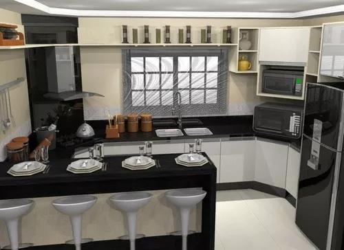 Cozinha planejada sob medida - projeto