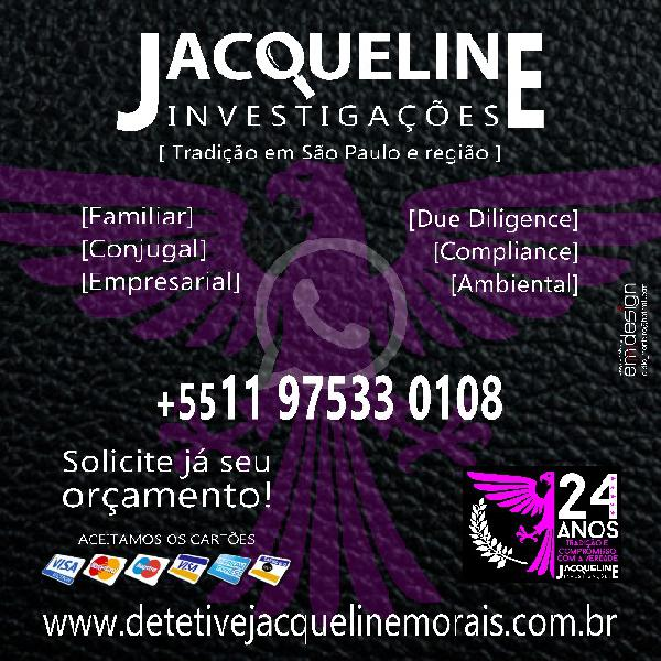 Detetive jacqueline investigações