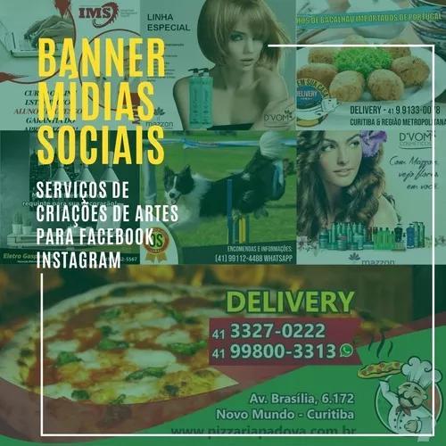 Freelancer banner mídias sociais facebook instagram