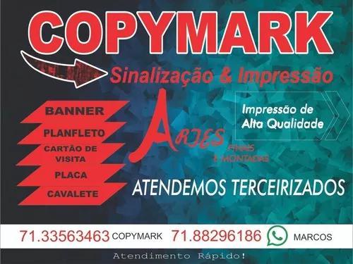 Impressão digital & sinalização