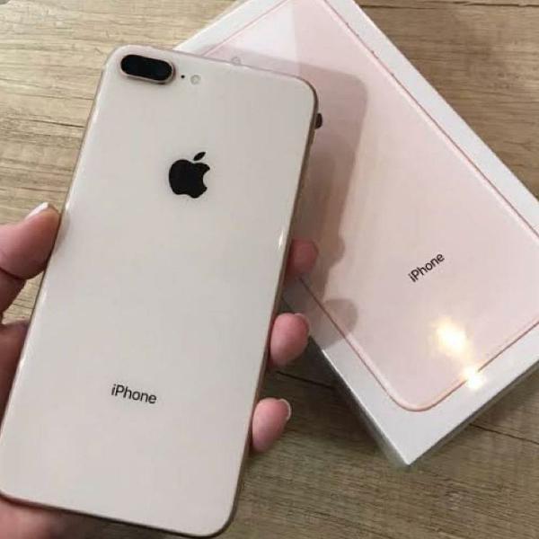 Iphone 8 plus n128gb na na caixa novo