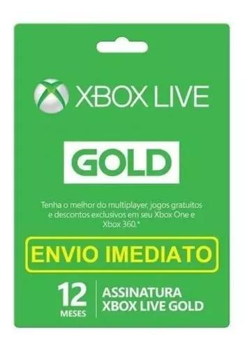 Live gold 12 meses e 3 meses