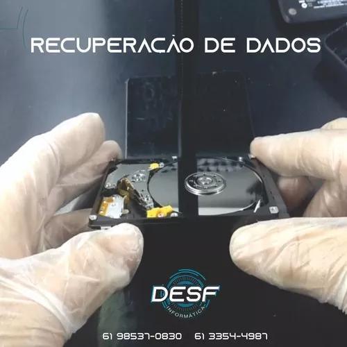 Recuperação de dados de hd, ssd, pendrive, cartão de
