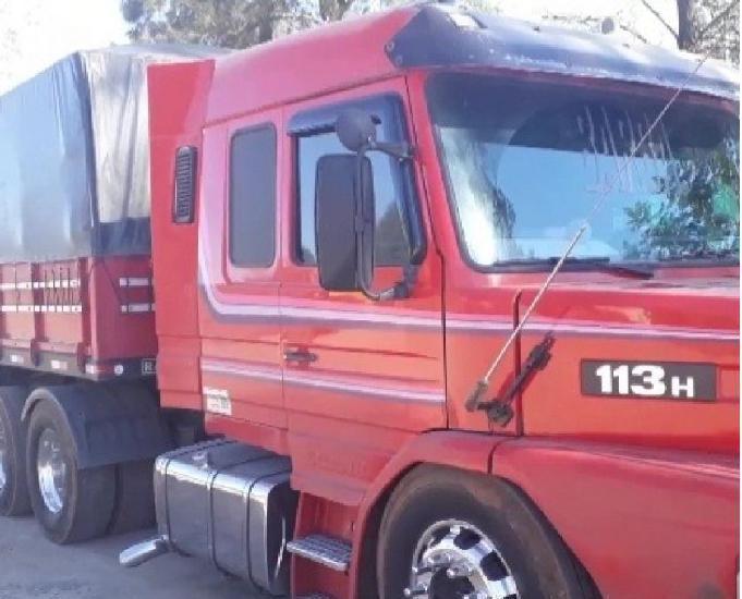 Scania t113 ano 98 com carreta sr randon srca