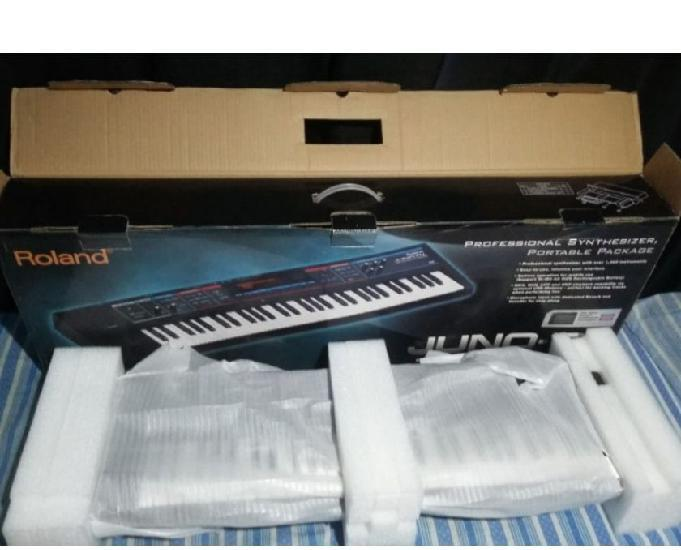 Teclado sintetizador roland juno di novo com garantia