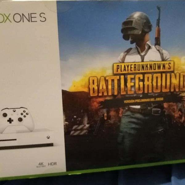 Xbox one s 1 tb com 3 jogos