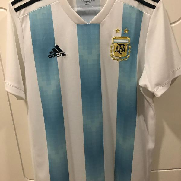 Camisa da seleção argentina masculina 2018