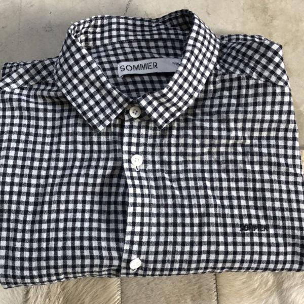 Camisa linho + algodão sommer
