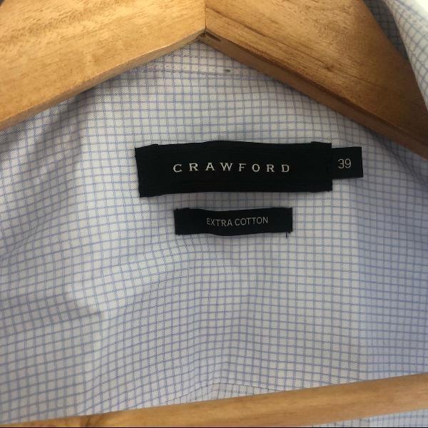 Camisa social masculina crawford tamamho m