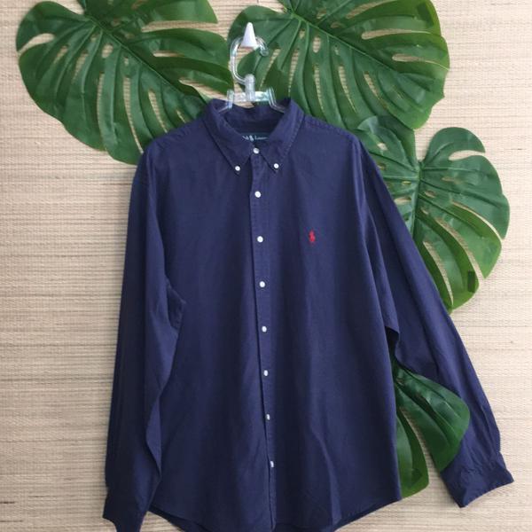 Camisa social masculina polo ralph lauren