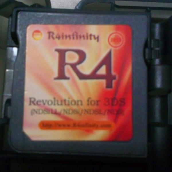 Cartão r4 2013 para 3ds ds com cartão sd 8gb e porta