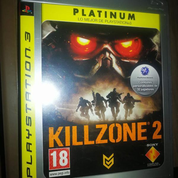 Killzone 2 ps3 mídia física
