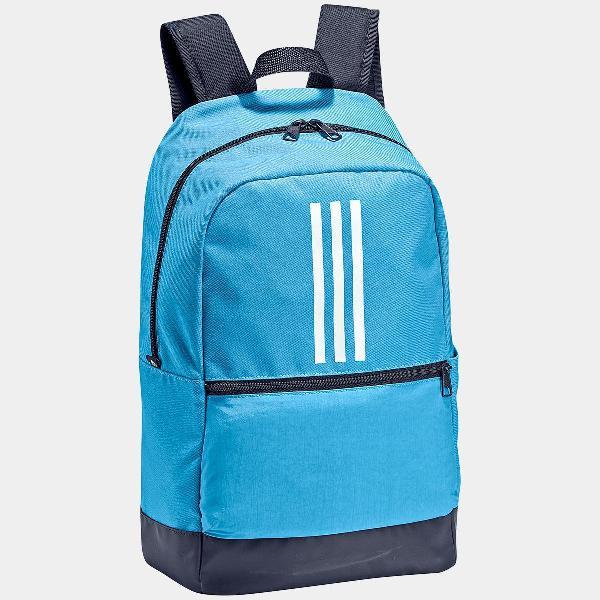 Mochila adidas classic 3 stripes azul nova