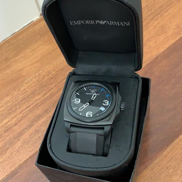 Relógio masculino empório armani original