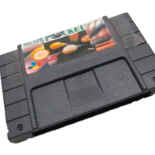 Side pocket super nintendo paralelo funcionando