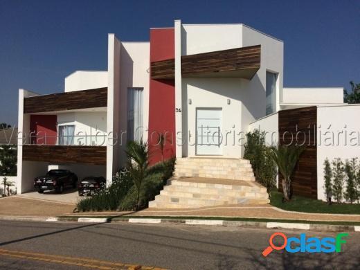 Casa alto padrão com 4 suítes cond ibiti do paço