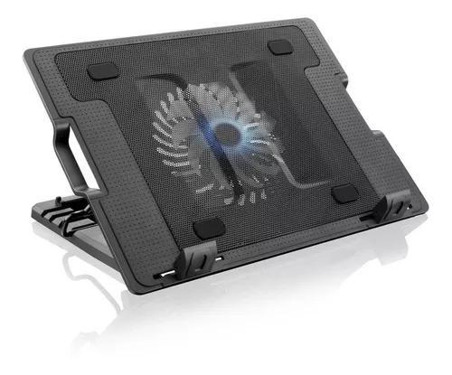 Base cooler p/ notebook c suporte vertical led até 17 ac166