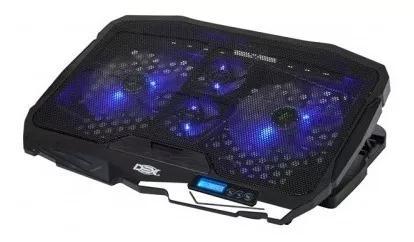 Base Cooler Para Notebook Gamer Até 17 4 Coolers Dx-006 Led