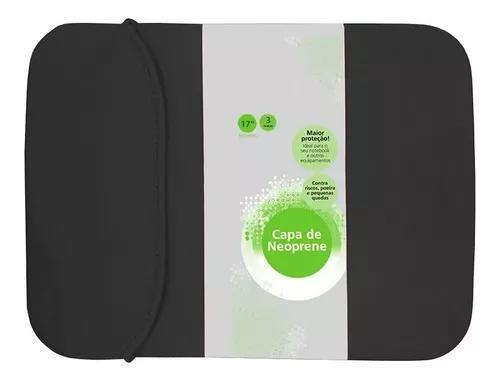 Capa case notebook macbook 17 polegadas universal dupla face