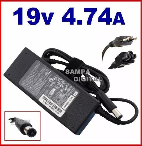 Carregador notebook hp compaq cq40 cq42 cq43 cq57 19v 4.74a