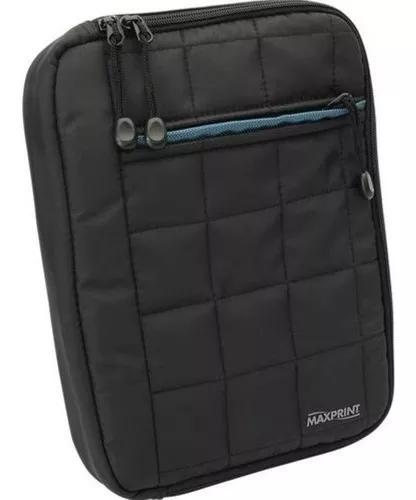 Case para tablet 10,1 maxprint 607411 preta nova com nfe