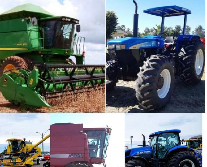 Credito rural (maquinários e propriedades)