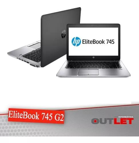 Hp elitebook 745 g2 14 a8 pro-7150b 1.90ghz 4gb 500gb