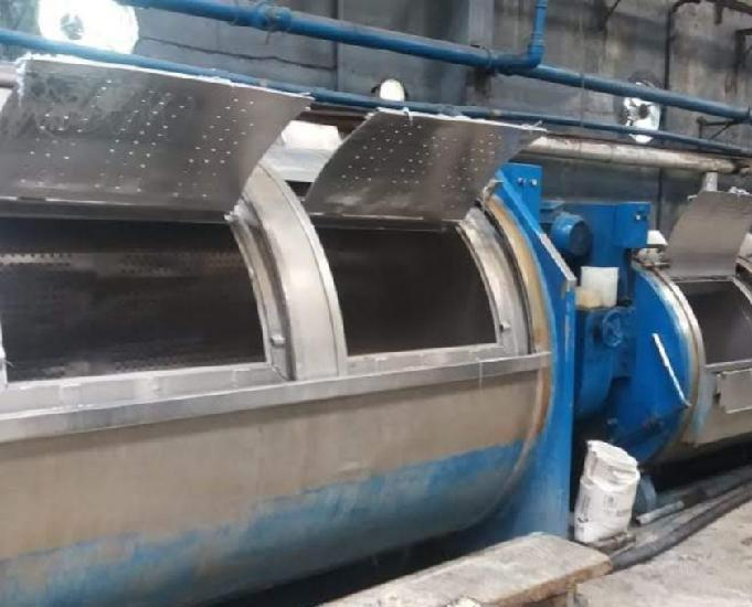 Lavadora 500kg, 300kg, 200kg usada para lavanderia de jeans.